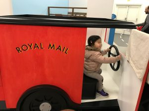Delivery time in Royal Mail van