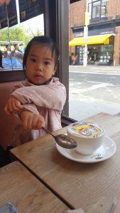 Minion babyccino time