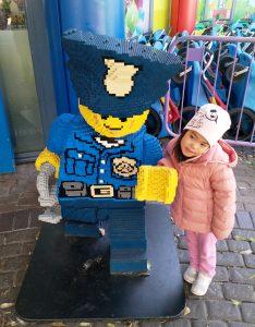ABC Dad Legoland Cara Policeman