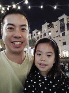 ABC Dad Cara Christmas in Dubai Souk