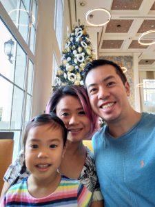 ABC Dad Cara Christmas in Dubai Tree
