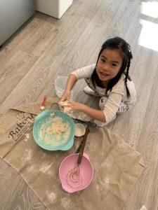 ABC Dad COVID-19 Lockdown Cara baking