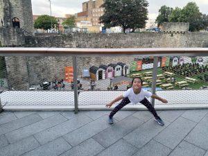 Summer holidays Southampton wall