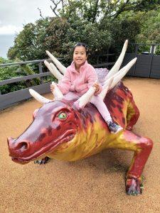 Isle of Wight Blackgang Chine dinosaur