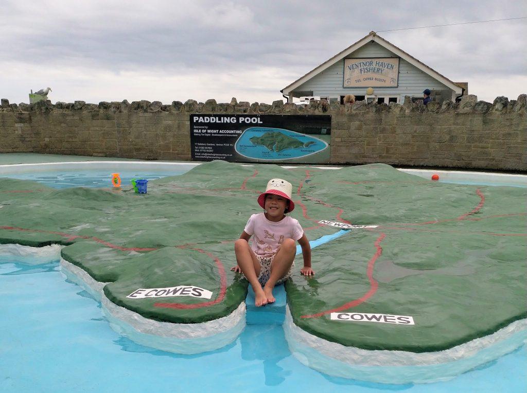 Isle of Wight Ventnor Paddling pool