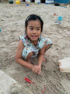 Summer Holidays Tapnell Farm Sand