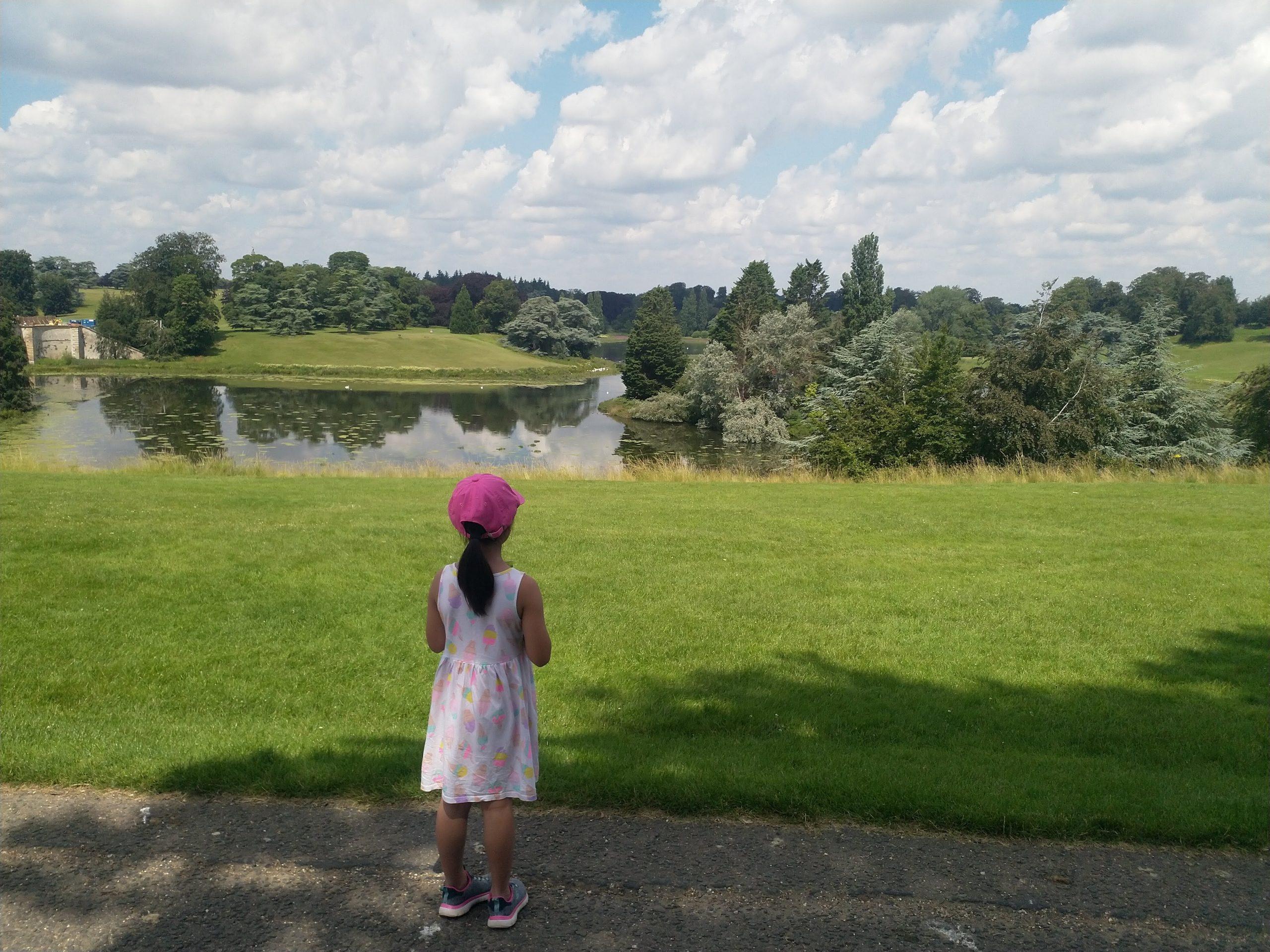 Blenheim Palace view