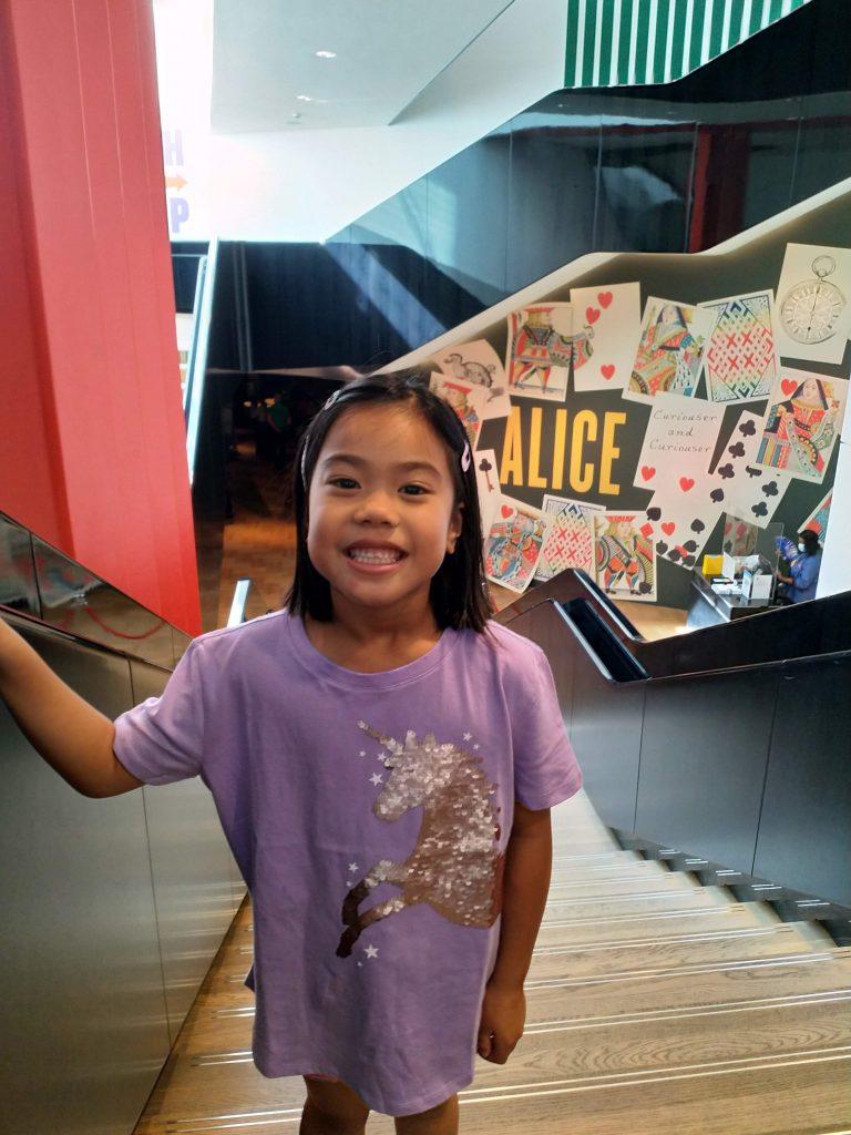 V&A Museum Alice Curiouser and Curiouser entry