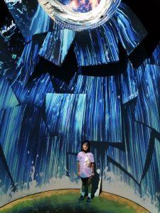 V&A Museum Alice Curiouser and Curiouser lights